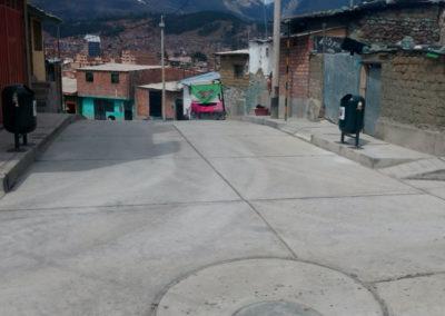 SANEAMIENTO, PISTAS Y VEREDAS – VISTA ALEGRE Huaraz – Huaraz